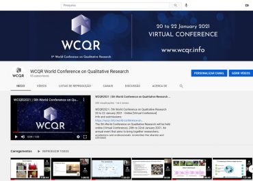 WCQR2021 // Videos on YouTube